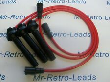 RED 8.5MM PERFORMANCE IGNITION LEADS GALANT VR-4 2.5i 24V Q/CAM QUALITY HT LEADS
