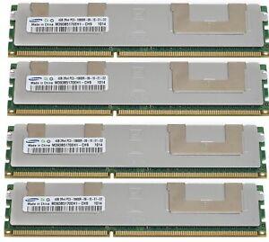 32GB (8x4GB) PC3-10600R DDR3 Ram Memory 1333MHz 240 ECC Registered