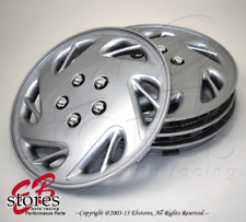 "15"" Inches Hubcap Style#054- 4pcs Set of 15 inch Wheel Rim Skin Cover Hub caps"