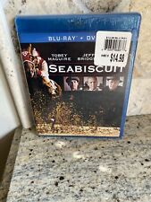 Seabiscuit (Blu-ray/DVD, 2012, 2-Disc Set)