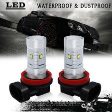 30W NEW 2x  H8 H9 6000K LED Headlight Bulb Kit Fog Light Day Time Running Lamp