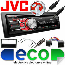Vauxhall Corsa C 2000-2004 Jvc Auto Radio Stereo UPGRADE KIT CD MP3 AUX NERO