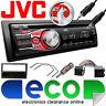 Vauxhall Corsa C 2000-2004 JVC Car Stereo Radio Upgrade Kit CD MP3 AUX Black