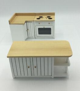 Dolls House Kitchen Units And Island
