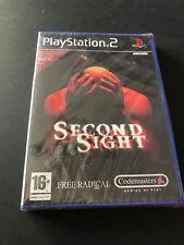 Second Sight PS2 Play Station 2 Pal NUEVO A ESTRENAR PRECINTADO