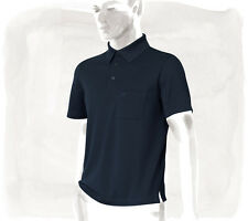 BRAND NEW 2016 HERMES $495 MEN'S CLASSIC POLO SHIRT MARIN BLUE SIZE MEDIUM M