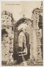Cheshire postcard - St John's Ruins, Chester (A63)