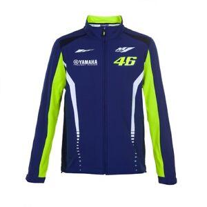 Valentino Rossi Yamaha M1 Herren Blau Softshell Jacke Motogp Ware VR46