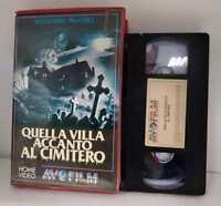 Quella villa accanto al cimitero - (Lucio Fulci) - VHS ex noleggio - Avofilm