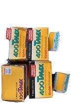 Kodak Tmax 400 35mm Film X 5 + 100 ISO X 1  Expired