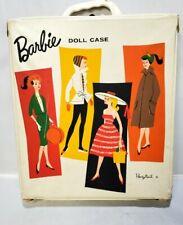 Vintage 1958 Barbie Doll Mattel Japan with Accessories Clothes Lot Cases