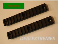 "A pair of 13 slots Keymod Key Mode Picatinny Rails section handguard 5.2"" long"