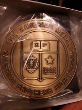 THE XAVERIAN BROTHERS HIGH SCHOOL MEDAL PENDANT RIBBON NEW