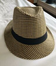 Men's Straw Panama Hat Size 58 - Ideal for Summer & Beach