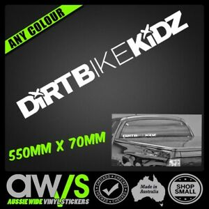 DIRT BIKE KIDZ Sticker Decal 550mm x 70 / FOR Motocross LKI Car MX DBK MX MOTO