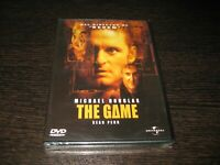 The Game DVD Michael Douglas Sean Penn Scellé Neuf