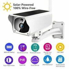 Caméra de sécurité solaire HD + Wifi