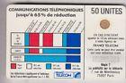 VARIETE TELECARTE CORDON BLANC .. 50U Ko58 SC4OB V° PE.7+IMP.11880 C.28€