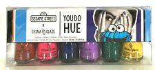 China Glaze Nail Lacquer MINI - YOU DO HUE x SESAME STREET - 6 Colors x 0.125oz