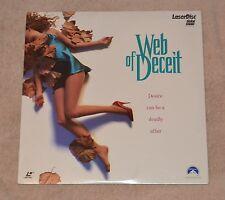 Web of Deceit Laserdisc SEALED