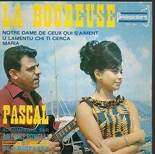 EP 4 TITRES--PASCAL & ANTOINE BONELLI--LA BOUDEUSE / MARIA (CHANTS CORSE)