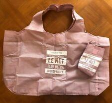 Monoprix French Shopping Bag - Pink Design
