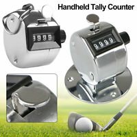 2X Golf Tally 4-Digit Number Hand Held Clicker Sport Counter Counting Recorder