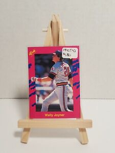 Vintage * MLB * California Angels * 1990 Classic * T42 Wally Joyner