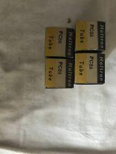 4x Haltron PC86 Vacuum tubes. NOS. Original packaging. Vintage.