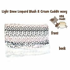 Mirage Pet Products Light Snow Leopard Itty Bitty Baby Blanket