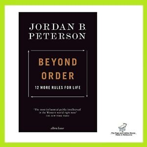 Beyond Order: 12 More Rules for Life by Jordan B. Peterson   Paperback Book NEW