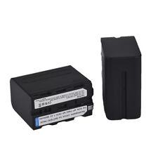 2 x NP-F970 Battery For Sony HVR-Z1E HVR-V1U HVR-Z7U HVR-HD1000E NP-F770 U6P4