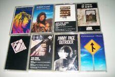 Jimmy Page/Robert Plant/John Paul Jones/Led Zeppelin ZOSO Music Cassette Lot (8)