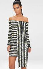 97966d63ed49 Women's Long Sleeve Striped Short/Mini Stretch, Bodycon Dresses | eBay