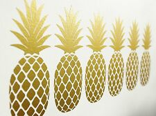 Gorgeous Pineapple Wall Art Vinyl Decals/Stickers - Various Colours & Sizes
