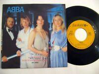 """ABBA 7 """" lp  BALKANTON BULGARIA RARE"""
