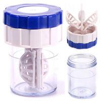 Manuell Kontaktlinsen-Reiniger Waschmaschine Reinigung Linse-Kasten New H5K1
