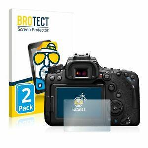 Canon EOS 90D , 2 x BROTECT® Matte Screen Protector, anti-glare, hard-coated