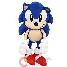 "Sega Sonic Classic Sonic  Jumbo Plush Doll 24""  Bedding Cuddle Pillow"