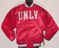 Vintage 80's UNLV Runnin' REBELS STARTER Jacket SATIN NEW Old Stock ORIGINAL PKG