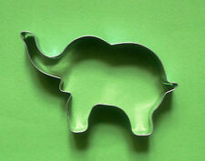 "4"" Elephant Cookie Cutter Animal Baking Biscuit Pastry Candy Steel Mold"