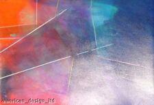 Alex Makin Colorful Original Abstract Mixed Media Art, Artwork, Make An Offer!