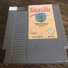 Faxanadu (Nintendo Entertainment System, 1989) NES Cart NE4