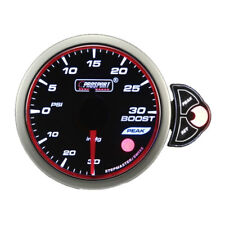 Prosport Electrical Universal Halo Series 52mm 3-Color Boost Gauge 30-30 PSI