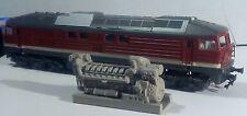 Dieselmotor 5 D 49 der BR 132 der DR in H0