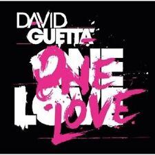 "David Guetta ""One Love"" CD 16 tracks NEUF"