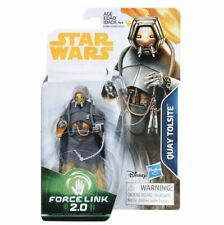 """Star Wars Force Link 2.0 Quay Tolsite Movie 3.75"""" figure Han Solo Story Hasbro"""