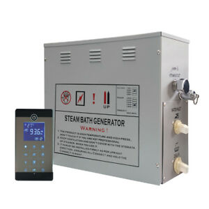 Dampfgenerator Touchscreen 6 KW Dampfdusche Dusche Sauna Dampfbad LXW-GS08-117U