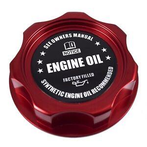 New Red Engine Oil Filler Cap For Nissan Infiniti Nismo GTR 350z 370z 240SX