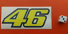 valentino rossi 46 Sticker Decal Helmets,vans,ect indoor/outdoor waterproof